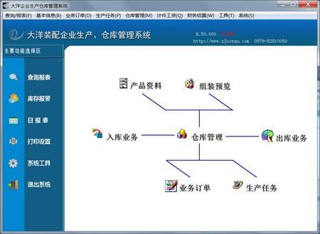 大洋企业生产仓库管理系统_8.52_32位中文试用软件(23.46 MB)