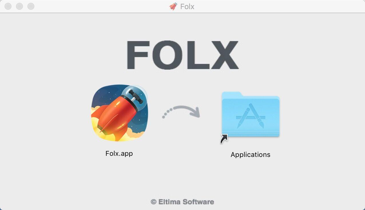 Folx Pro 5(Mac专用的下载器)_5.1.13647_32位 and 64位中文免费软件(34 MB)