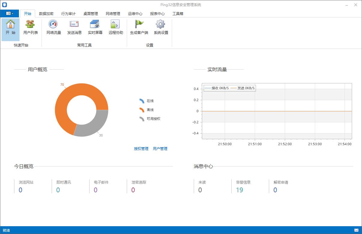 Ping32内网安全管理系统_3.7.3_32位 and 64位中文共享软件(122.09 MB)
