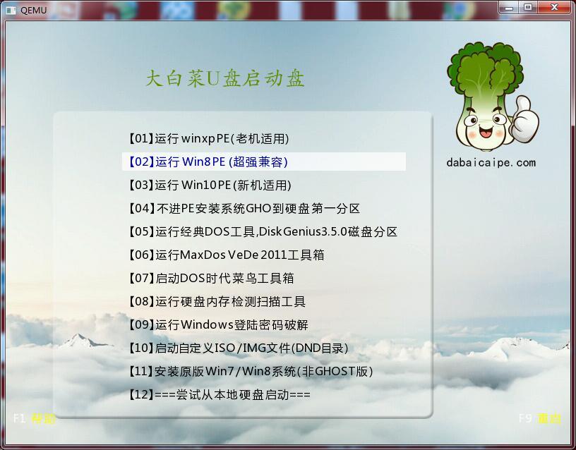 大白菜u盘启动盘制作工具装机版_9.7.0.0_32位 and 64位中文免费软件(572.13 MB)