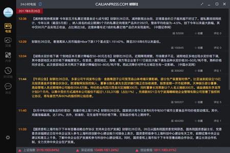财联社_3.0.6_32位 and 64位中文免费软件(39.2 MB)
