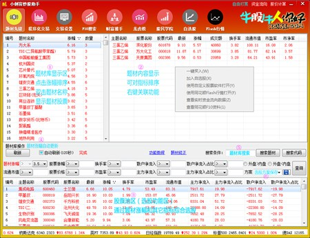 小刺客炒股助手_5.1_32位 and 64位中文免费软件(2.72 MB)