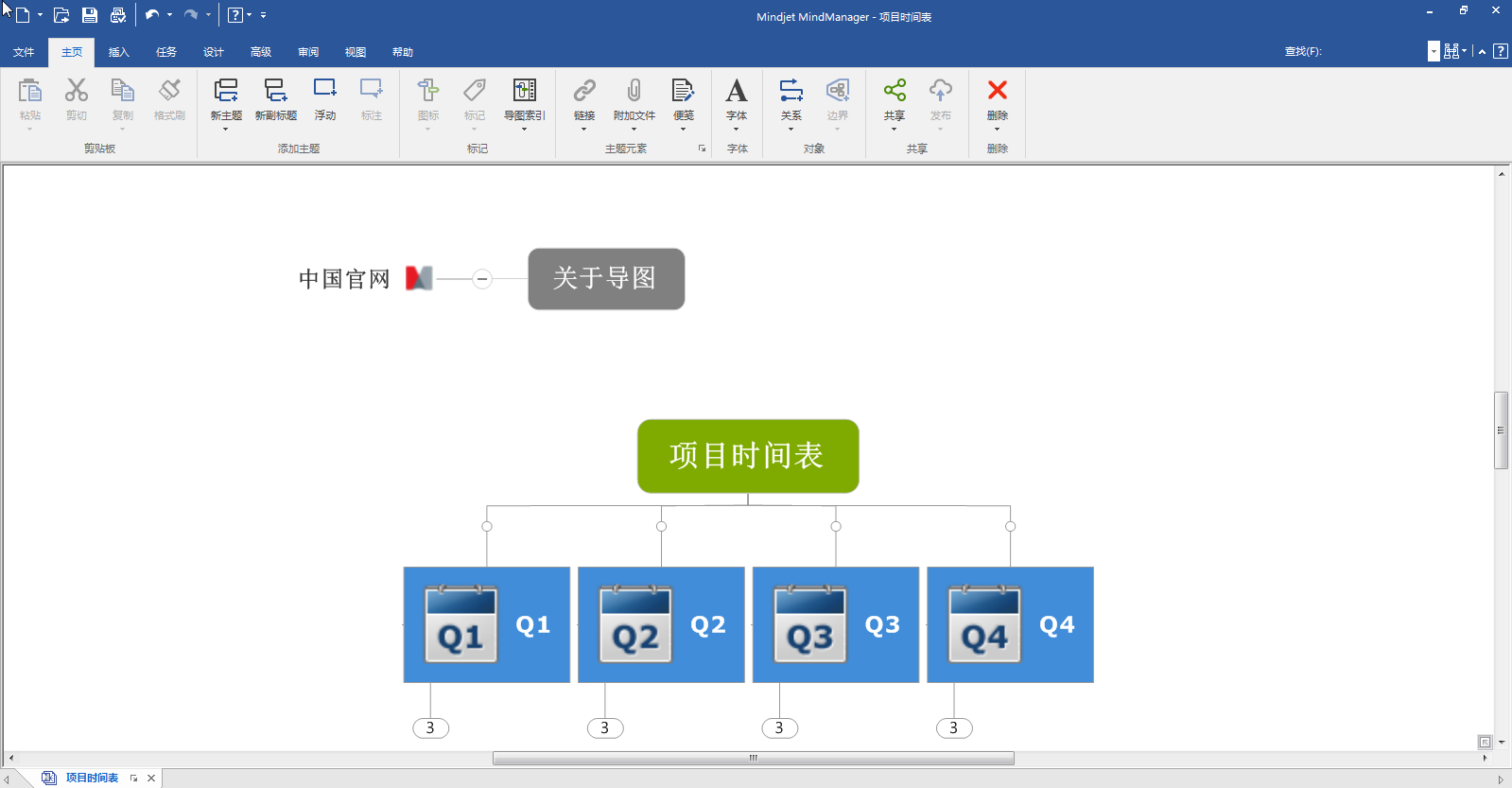 MindManager 2018思维导图软件中文版_v18.0.284_32位 and 64位中文免费软件(204.78 MB)