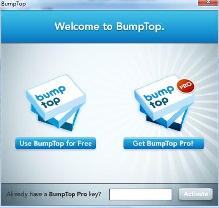 3D桌面BumpTop_2.1.6225.0_32位英文免费软件(17.2 MB)
