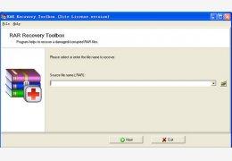 RAR Recovery Toolbox压缩文件修复绿色版_1.1_32位中文免费软件(1.66 MB)