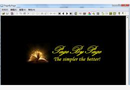 小说编辑阅读器(PageByPage)绿色免费版_1.11_32位中文免费软件(1.19 MB)