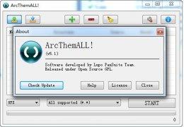 应用程序解包工具ArcThemALL!绿色版_5.1 _32位中文免费软件(1.46 MB)