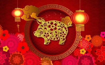 【数据测试】微软上线Windows 10猪年免费主题:20张中国风喜庆壁纸