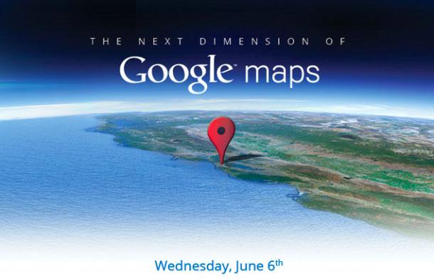 """【数据测试】Google抢在苹果WWDC之前发布""""新一维""""地图"""
