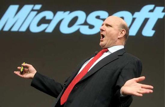 【数据测试】微软CEO:将围绕Windows 8和云计算重构微软