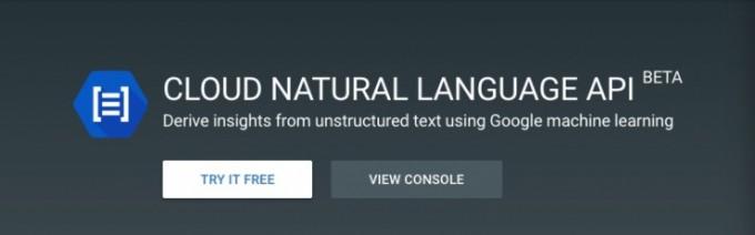 【数据测试】谷歌正式发布Beta版云自然语言API