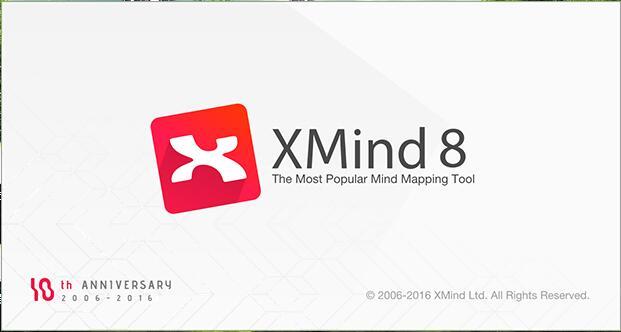 【软件资源】XMind 8 思维导图软件,产品经理必备和推荐的软件
