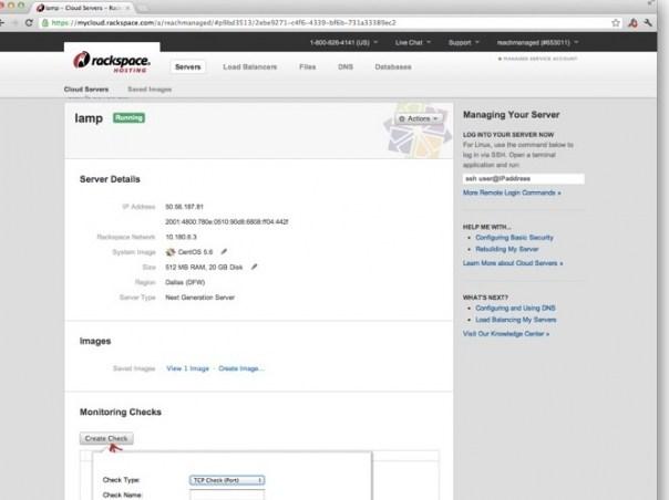 【数据测试】Rackspace发布云监控服务