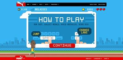【数据测试】Run Puma Run:彪马发布的HTML5游戏