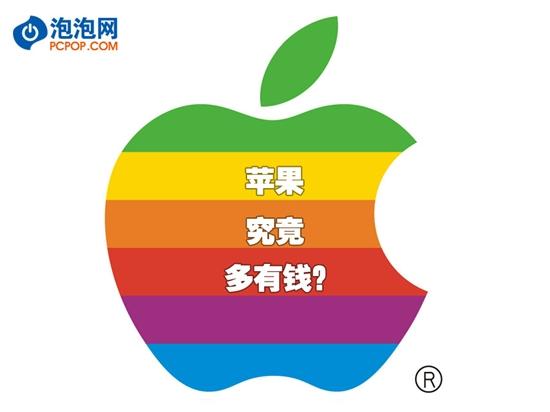 【数据测试】[多图]告诉你苹果帝国到底有多少钱