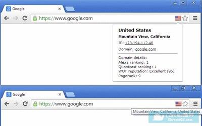 【浏览器插件】显示网站IP以及国家的谷歌浏览器插件