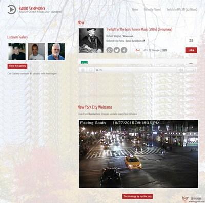 【经典网站】Radiosymphony:纽约曼哈顿古典音乐电台