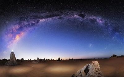 【数据测试】最美的Windows 7/8官方主题:《银河》