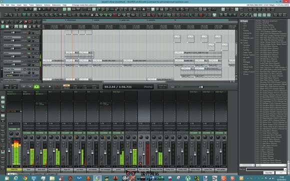 【工具类】Reaper.FM:收割者音频编辑工具