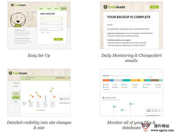 【工具类】CodeGuard:网站数据备份服务平台