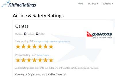 【经典网站】国际独立航空评级机构
