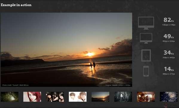 【经典网站】AdaptiveImages:图片自适应源码工具