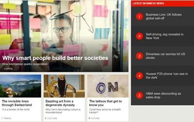 【经典网站】英国广播公司BBC官方网站