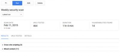 【数据测试】谷歌发布云安全扫描工具 简化网页应用漏洞测试