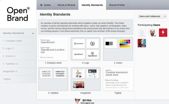 【经典网站】OpenBrand:在线品牌事项管理平台