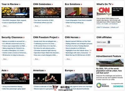 【经典网站】CNN:美国有线电视新闻网