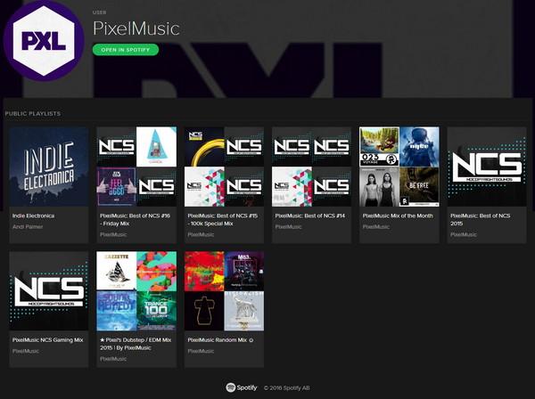【经典网站】PixelMusic:最佳电子音乐混音网