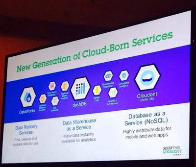 【数据测试】IBM发布三款云数据服务 构建大数据分析工具链