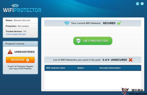 【工具类】WifiProtector:WIFI无线网络安全加密工具