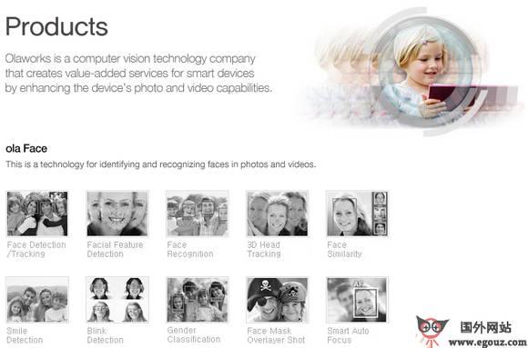 【经典网站】OlaWorks:图像增强现实技术开发公司