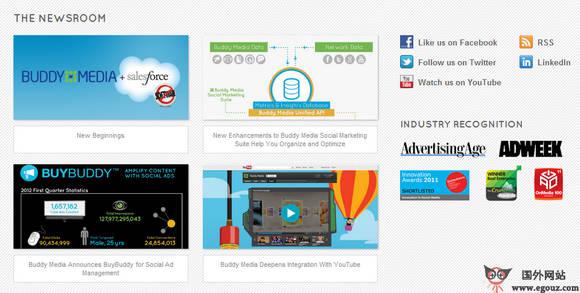 【经典网站】BuddyMedia:社交媒体营销服务公司