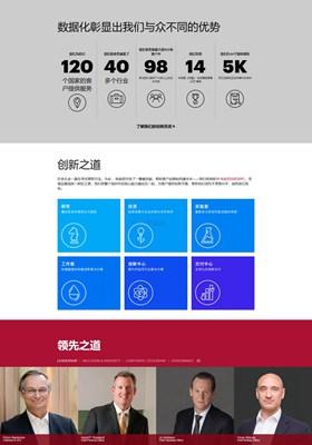 【经典网站】Accenture 埃森哲战略咨询公司