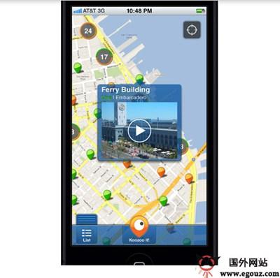 【经典网站】KooZoo:公共摄像头街景展示网