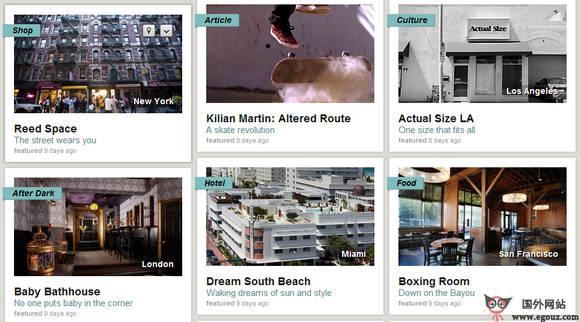 【经典网站】UnLink:全球城市旅游分享平台