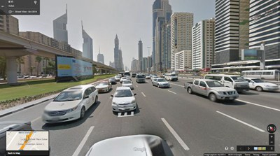 【数据测试】迪拜街景正式开放 全球用户可游览