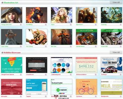 【素材网站】TheDesignInspiration:每日创意灵感资源分享网