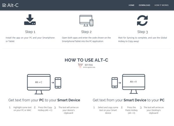 【工具类】AltCopy:跨平台双向同步剪切工具