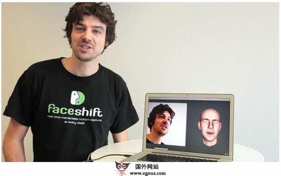 【经典网站】FaceShift:实时面部表情捕获系统
