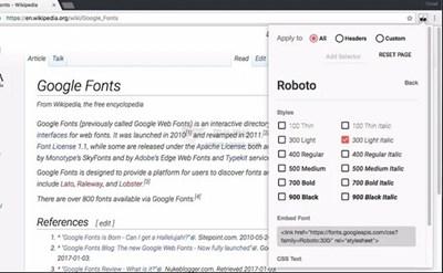【工具类】FontSwap|阅读网站字体切换插件