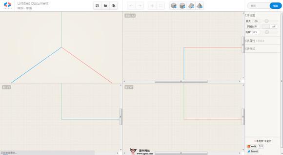 【工具类】TriDiv:基于浏览器的3D模型作品制作工具
