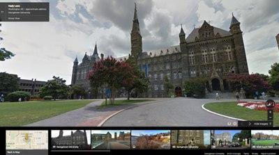 【数据测试】谷歌街景已加入36所北美大学校园