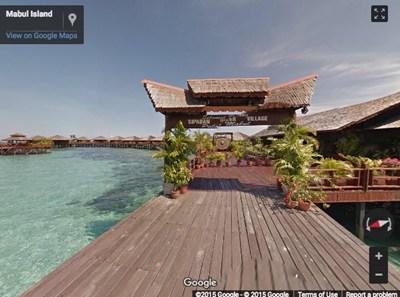 【数据测试】谷歌街景带你观摩马来西亚最高峰的美景