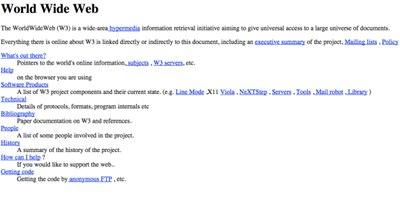 【数据测试】全球首个网站诞生25周年