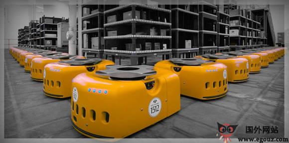 【经典网站】KivaSystems:机器人订单履约服务