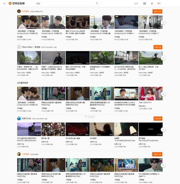 【经典网站】范特西|视频创作者分享平台