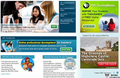 【经典网站】PBS:美国公共电视台官网